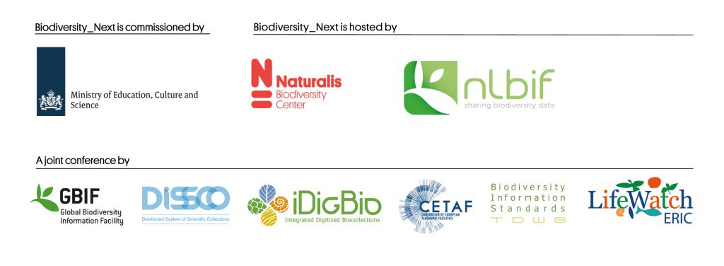 The logos of the biodiversity_next co-organisers
