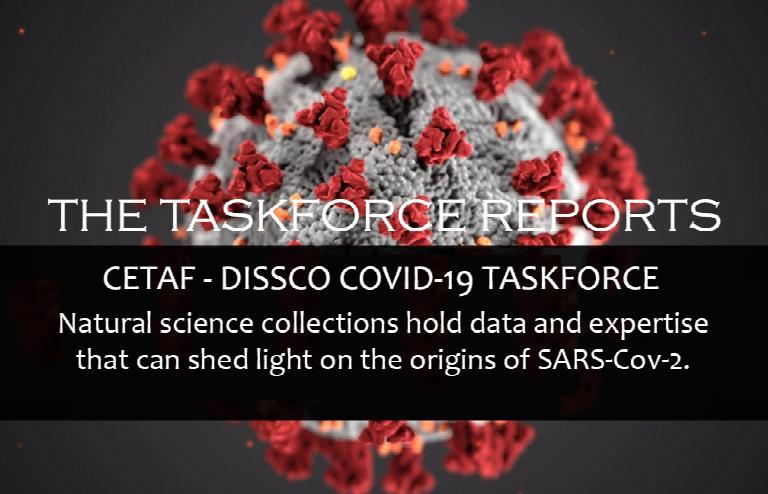 The CETAF-DiSSCo COVID-19 Taskforce Reports