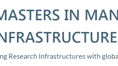 Masters in Management of Research Infrastructures – Call for Applications